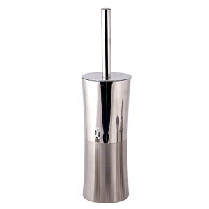 Stainless Steel Bright Toilet Brush Holder