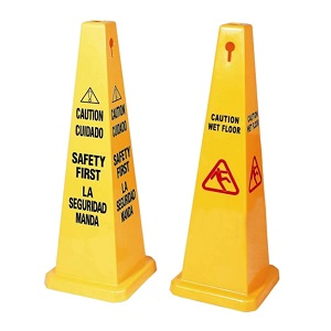 Customized Plastic A Shape Caution Wet Floor Warning Sign Board