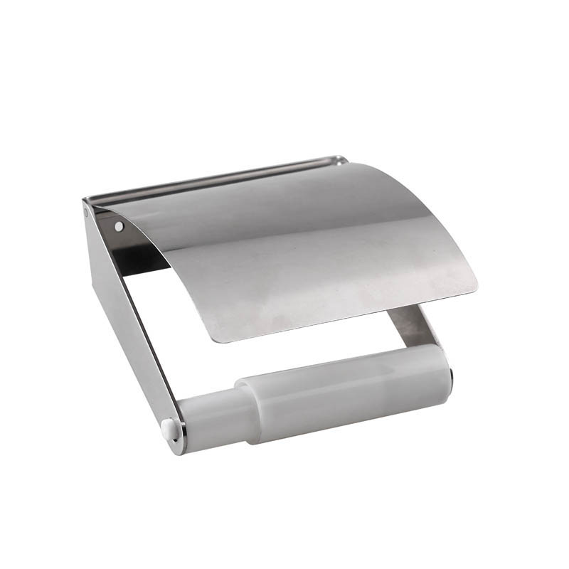 Stainless Steel Toilet Roll Holder with Cover