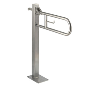 Vertical Swing Grab Bar on Fixed Column