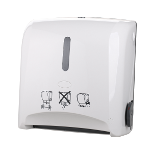 Manual Auto Cut Paper Towel Dispenser