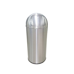 Push Open 18L Bin with Self Colsing Lid