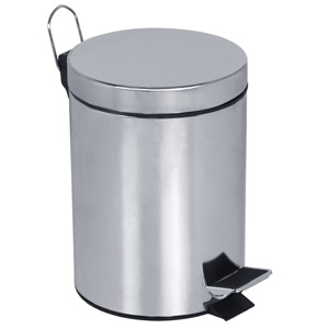 Pedal-Operated Circular Bin 12L Capacity