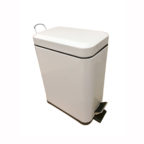 Pedal-Operated Rectangle Bin 5L Capacity