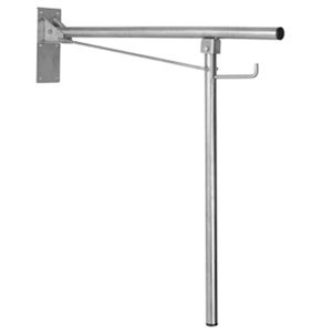 Vertical Swing Grab Bar with Floor Support